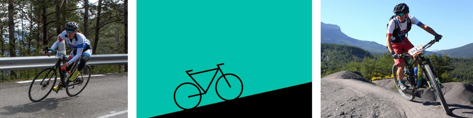Mathilde à vélo